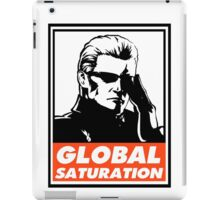 Wesker Global Saturation Obey Design iPad Case/Skin