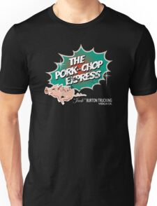 Pork Chop Express - Distressed Green Variant Unisex T-Shirt