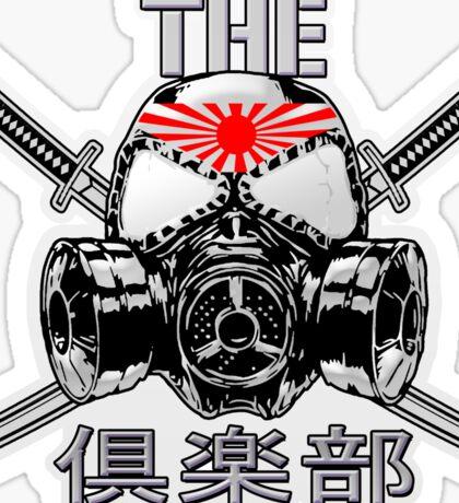 The Club Rising Sun Japan Sticker