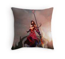 Athena, Born of Zeus Throw Pillow