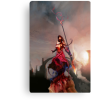 Athena, Born of Zeus Metal Print