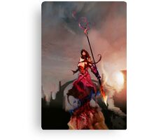 Athena, Born of Zeus Canvas Print