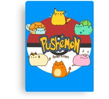 Pushemon Canvas Print