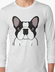 Frenchie - Brindle Pied Long Sleeve T-Shirt