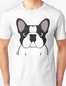 Frenchie - Brindle Pied Unisex T-Shirt