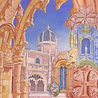 Composition of paintings. Mosteiro dos Jerónimos studies. by terezadelpilar~ art & architecture