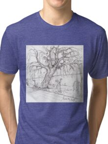 the willow Tri-blend T-Shirt
