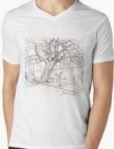 the willow Mens V-Neck T-Shirt