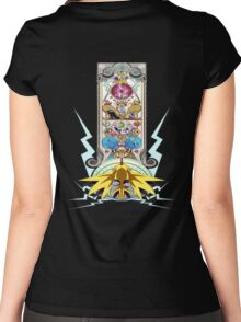 Electric Type Women's Fitted Scoop T-Shirt