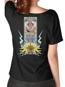 Electric Type Women's Relaxed Fit T-Shirt
