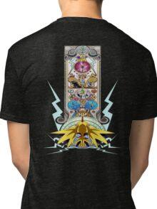 Electric Type Tri-blend T-Shirt