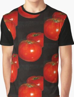 Lucious Tomatoes Graphic T-Shirt
