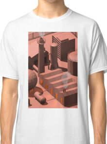 Low Poly Industry Classic T-Shirt