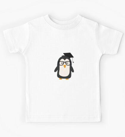 Penguin nerd Kids Tee