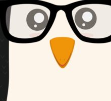 Penguin nerd Sticker