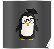 Penguin nerd Poster