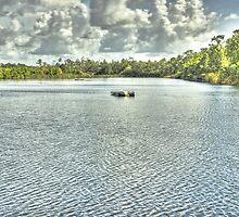 Morning at Alligator Lake  by John  Kapusta
