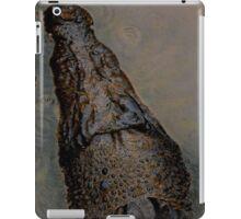 crocodile in kakadu iPad Case/Skin