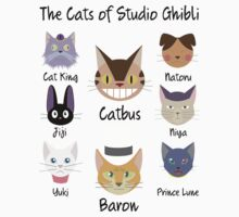 THE CATS OF STUDIO GHIBLI T-Shirt