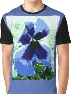 Pansy flower Graphic T-Shirt