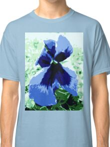 Pansy flower Classic T-Shirt