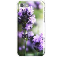 Pretty lavender flowers iPhone Case/Skin