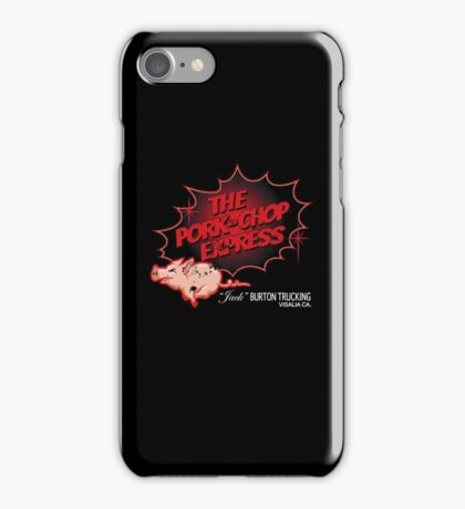 Pork Chop Express - Distressed Red Fade Variant iPhone Case/Skin