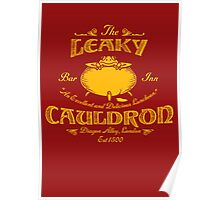 The Leaky Cauldron Bar & Inn Poster