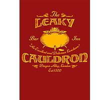 The Leaky Cauldron Bar & Inn Photographic Print