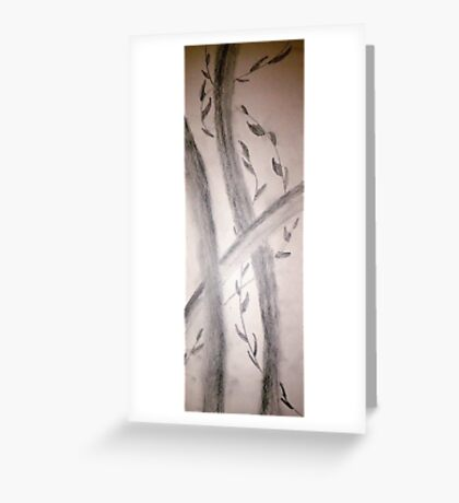 Sumi-E Section Greeting Card