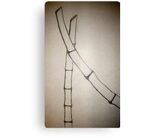 Minimalist Sumi-E Canvas Print