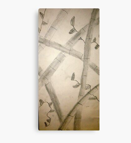 Sumi-E From All Angles Canvas Print