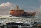 a tribute to the wreck by Nikolay Semyonov
