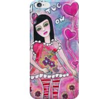 You tug on my heart strings iPhone Case/Skin