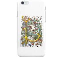 "The Illustrated Alphabet Capital  L  ""Getting personal"" iPhone Case/Skin"