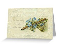 Take Kindly Greetings .... Greeting Card Greeting Card