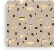 Coffee Mood Print Canvas Print