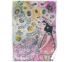 Bubbles make your soul smile Poster
