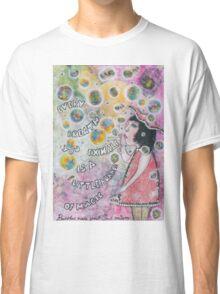 Bubbles make your soul smile Classic T-Shirt