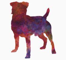 German Hunting Terrier in watercolor One Piece - Short Sleeve