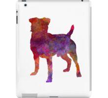German Hunting Terrier in watercolor iPad Case/Skin