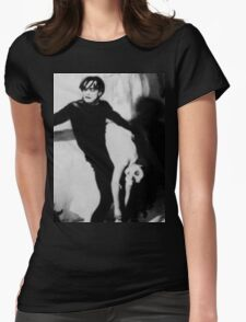Scene from The Cabinet of Dr Caligari Womens Fitted T-Shirt