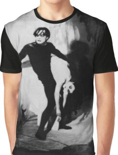 Scene from The Cabinet of Dr Caligari Graphic T-Shirt