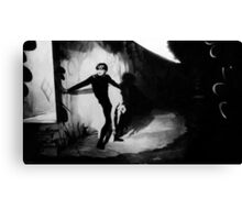 Scene from The Cabinet of Dr Caligari Canvas Print
