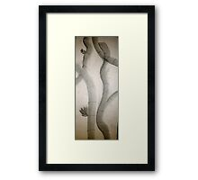 Sumi-E Branches With Value Framed Print