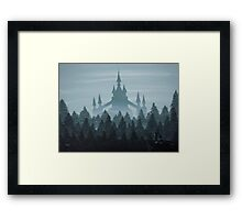 Misty Castle Framed Print