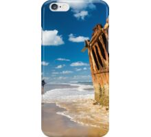 Fishing for Wrecks - SS Maheno iPhone Case/Skin