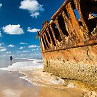 Fishing for Wrecks - SS Maheno by MichaelJP