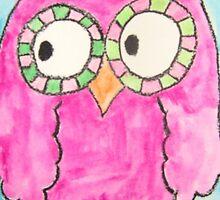Pink Ocular Bird by wearetough