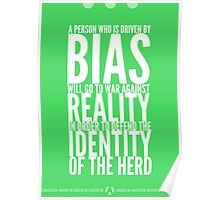 Principle vs Bias (2 of 2) Poster